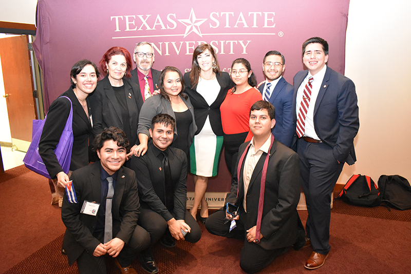 TAMIU Political Science Association and Pi Sigma Alpha students comete in MOAS Conference